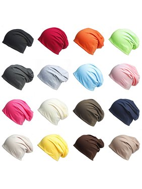 Product Image HiCoup Unisex Winter Casual Knitted Warm Solid Color Sports Slouch  Hat Baggy Beanie Cap d822d97c3d5c