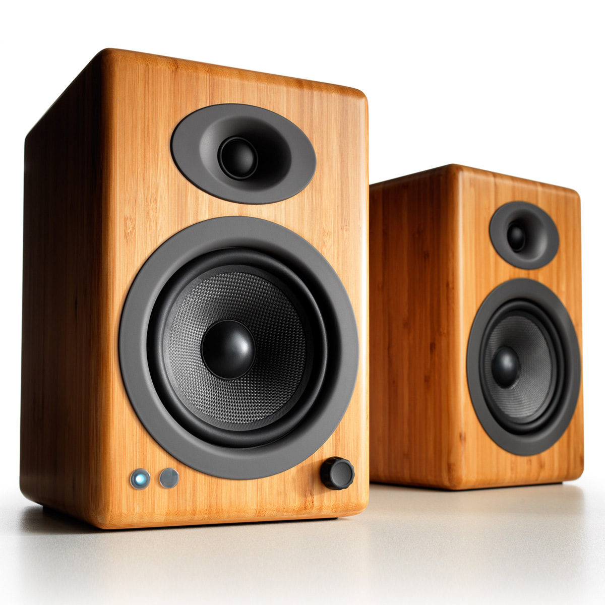 Audioengine A5+ Wireless Powered Bookshelf Speakers - Pair