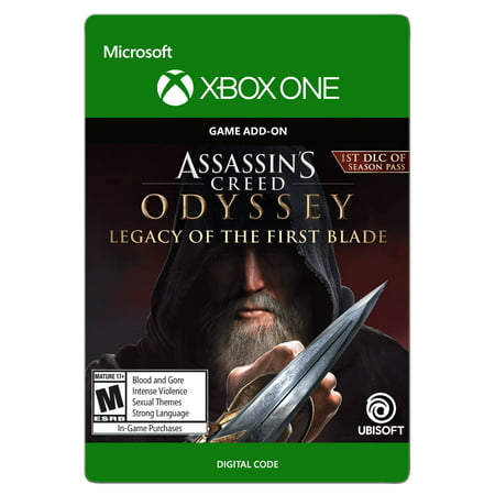 Assassin's Creed Odyssey: Legacy of the First Blade, Ubisoft, Xbox, [Digital (Hidden Blade Assassin's Creed)