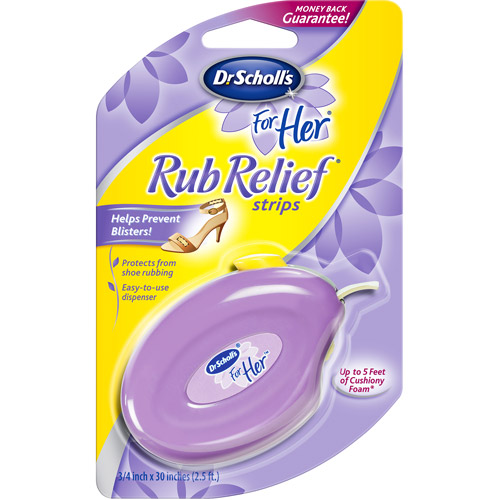 Dr. Scholls For Her Rub Strips