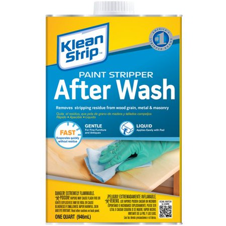 Klean-Strip Paint Stripper After Wash, 1 Quart