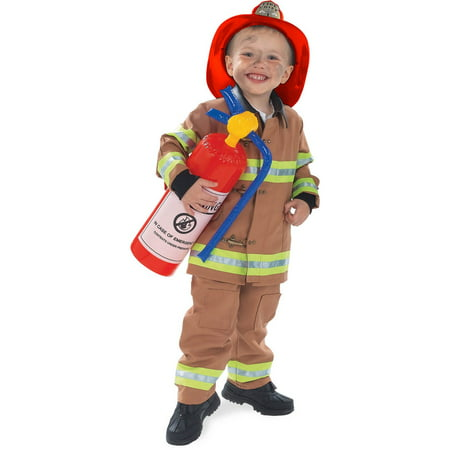 Lady Firefighter Costume (Boys Tan Firefighter Costume)