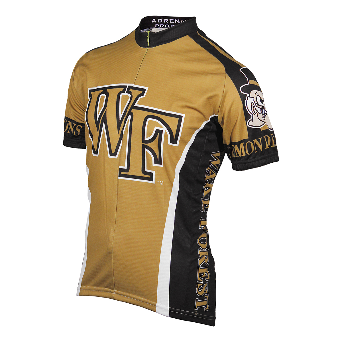 Adrenaline Promotions Wake Forest University Demon Deacon Cycling Jersey