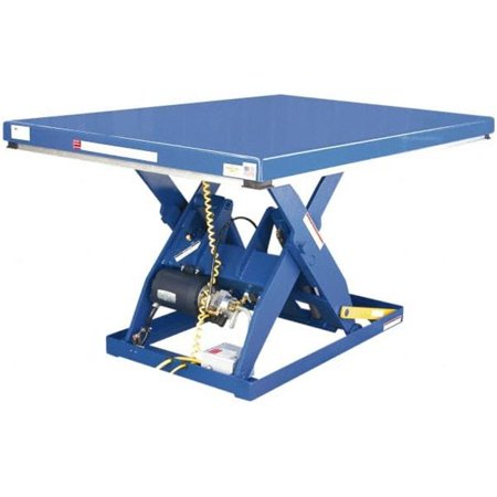 Vestil Manufacturing EHLT2448-3-43FC Electric Hydraulic Scissor Table with Foot - Electric Hydraulic Scissor Table