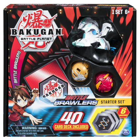 Bakugan Battle Brawlers Puzzle (Bakugan, Battle Brawlers Starter Set with Bakugan Transforming Creatures, Haos Howlkor, for Ages 6 and Up )