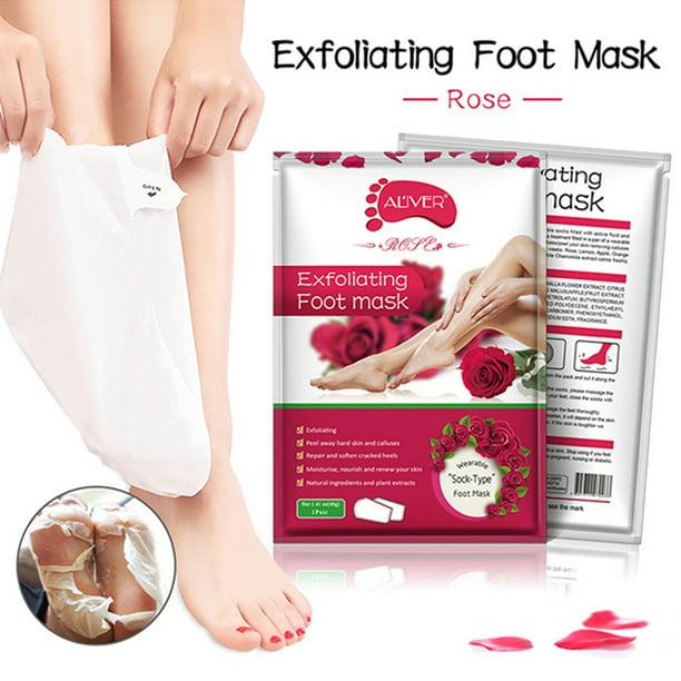 Foot Peel Mask 1 Pair Exfoliating Foot Masks Natural Exfoliator