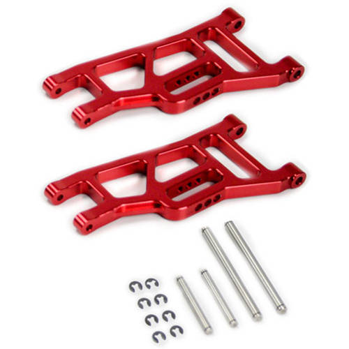 Alloy Front Lower Arm for Traxxas Slash 2WD, 1:10, Red