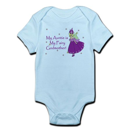 (CafePress - Aunt Is Fairy Godmother Infant Bodysuit - Baby Light Bodysuit)