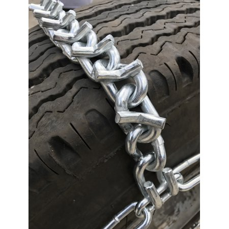 V-Bar Snow Chains 215/70R17.5, 215/70 17.5 Extra Heavy Duty V-Bar Tire Chains - image 1 of 2