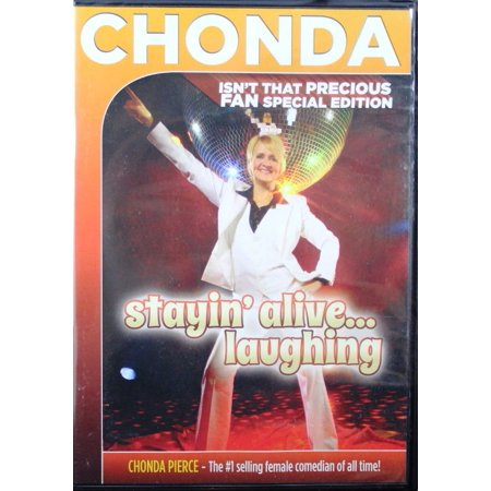 Chonda Pierce Stayin' Alive Laughing Precious Fan Special Edition (Stayin Alive A Tribute To The Bee Gees)