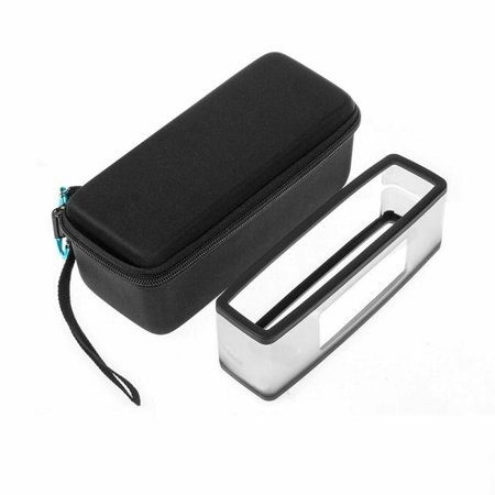 EEEKit Hard Travel Carrying Case with Soft Cover Shockproof Protective Pouch Accessories for boses Soundlink Mini Bluetooth