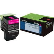 Lexmark, LEX70C1XM0, 70C1XC0/KO/MO/YO Toner Cartridges, 1 Each
