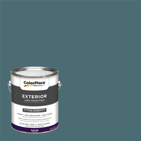 Colorplace Exterior Paint Totally Teal