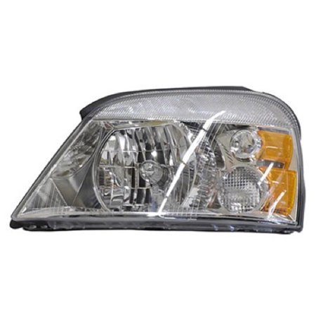 Go-Parts OE Replacement for 2004 - 2007 Ford Freestar Front Headlight Assembly Housing / Lens / Cover - Left (Driver) Side 7F2Z13008B FO2502203 Replacement For Ford Freestar 2004 Ford Freestar Parts