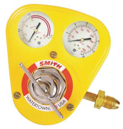 MILLER SMITH EQUIPMENT 40-15-510S Regulator, Cylinder, Ac...