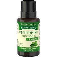 Nature's Truth Aromatherapy 100% Pure Essential Oil, Peppermint, 0.51 Fl Oz