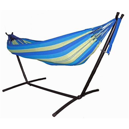 Omni Two Person Hammock with Compact Steel Stand and Case - (Omni Stand)