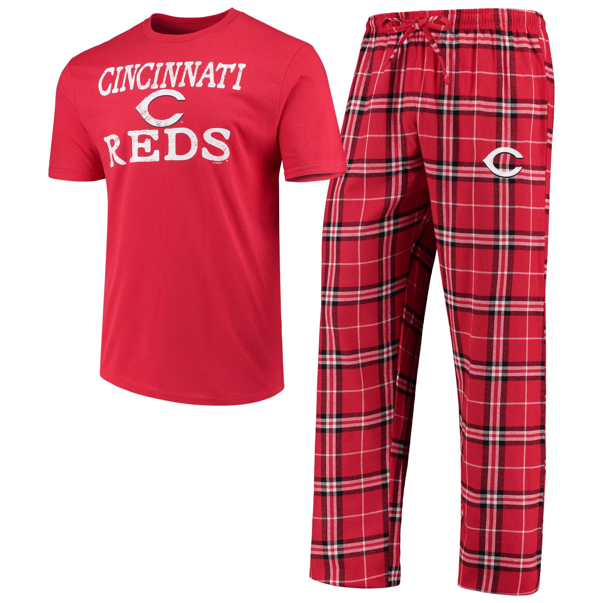 Cincinnati Reds Concepts Sport Duo Pants & Top Set - Red