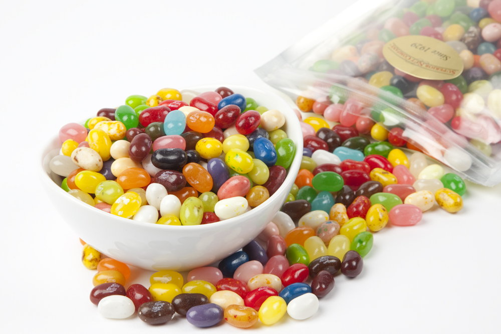 Assorted Flavors Jelly Belly Jelly Beans (1 Pound Bag) by