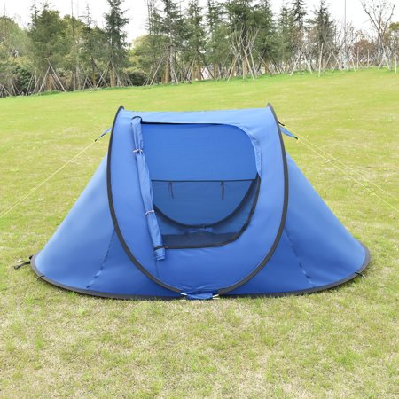 Waterproof 2 3 Person Pop Up Camping Tent Automatic