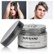 TekDeals Unisex DIY Hair Color Wax Mud Dye Cream Temporary Modeling 8 Colors Mofajang