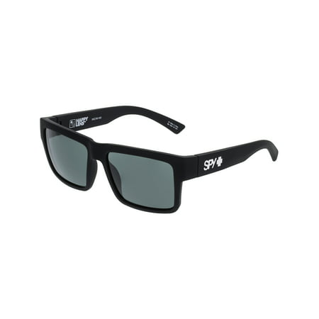 Spy Men's Montana 673407973863 Black Square (Spy Oasis Sunglasses)