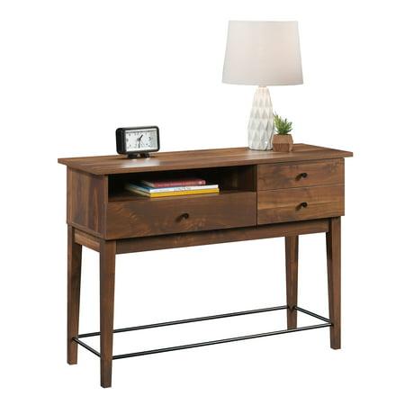 Better Homes & Gardens Montclair Sofa Table, Vintage Walnut Finish