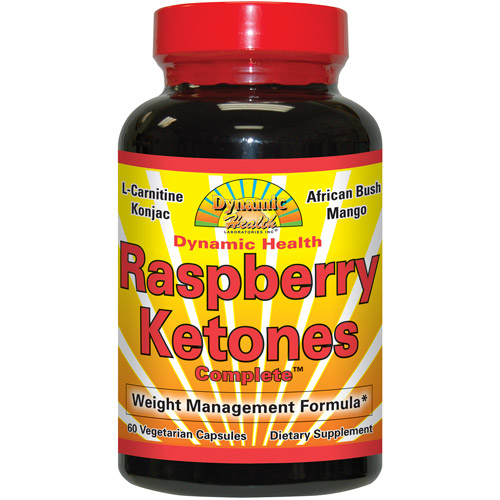 Dynamic Health Laboratories, Inc. Raspberry Ketones Complete Capsules Dietary Supplement, 60 count