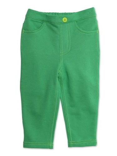 Zutano Baby Girls' Terry Matchstick Jean, Apple, 24 Months
