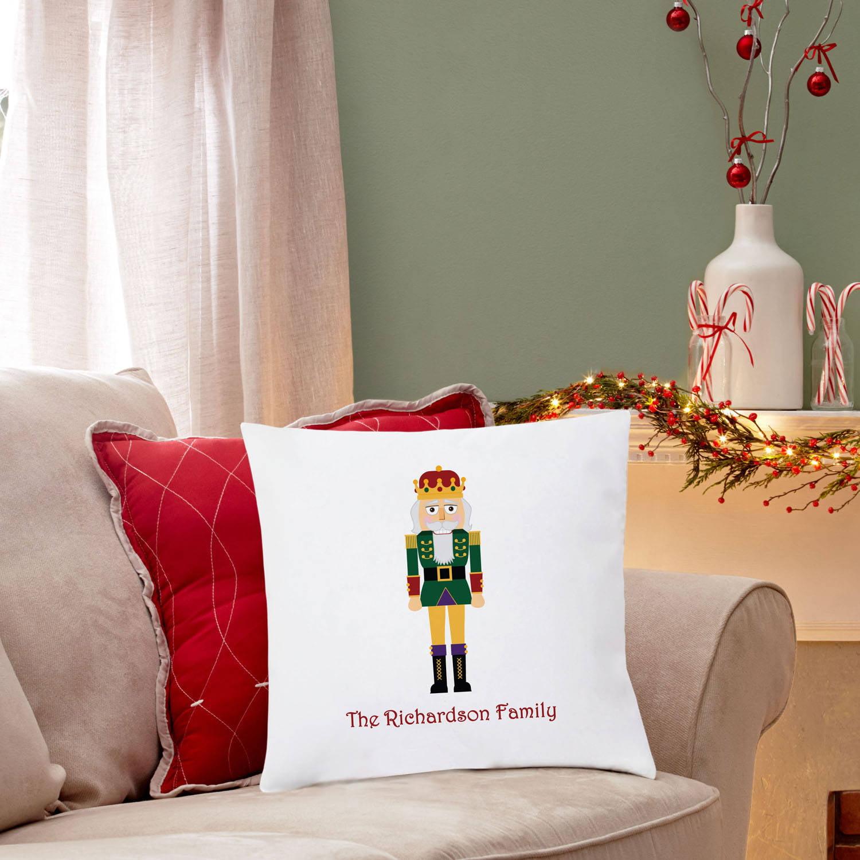 Personalized Nutcracker Pillow, Family
