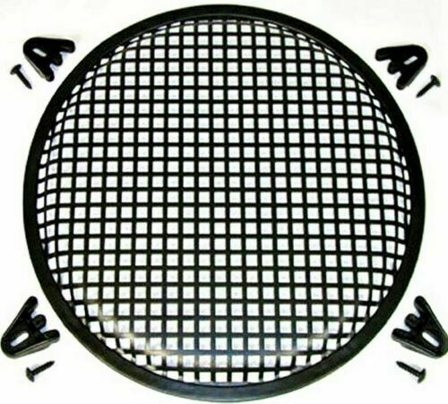 10 INCH SUBWOOFER SPEAKER COVERS WAFFLE MESH GRILL GRILLE PROTECT GUARD 1
