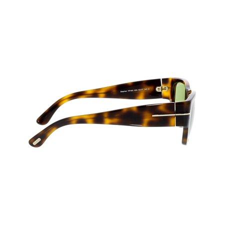 Tom Ford Men's Mirrored Stephen FT0493-52N-54 Brown Square Sunglasses - image 2 de 3