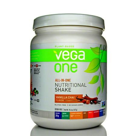 Vega One Nutritional Shakes (small tubs) - Vanilla Chai - 15.4 oz