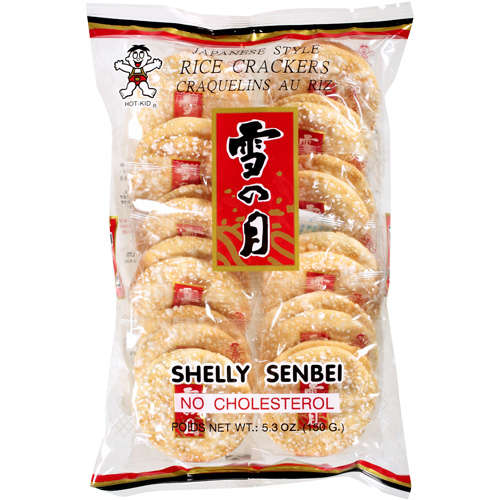 Shelly Senbei: Japanese Style Rice Crackers, 5.3 Oz
