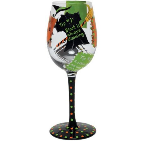Lolita Halloween 2011, Wine Glass - Tips From The Witch - Wine Martini New Love GLS11-5500B - Simple Halloween Martini