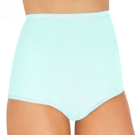 76ff6a8b987e Vanity Fair - Vanity Fair Perfectly Yours Women`s Tailored Cotton Brief  Panty, 10 - Walmart.com
