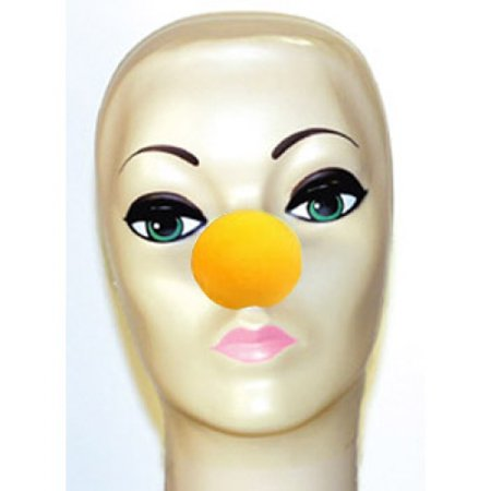 Magic By Gosh Yellow Foam Clown Noses (1 5/8