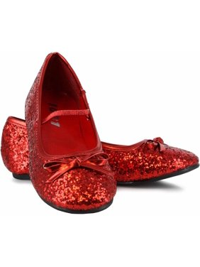 bd7f517e2756 Product Image Sparkle Ballerina Red Shoes Girls' Child Halloween Costume  Accessory