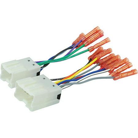 SCOSCHE NN03BCB - 95-up Nissan Power/Speaker Car Harness with Wire on