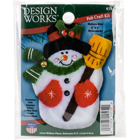 Design Works Felt Ornament Applique Kit 3