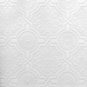 Brewster Nazareth Ornate Tiles Paintable Wallpaper