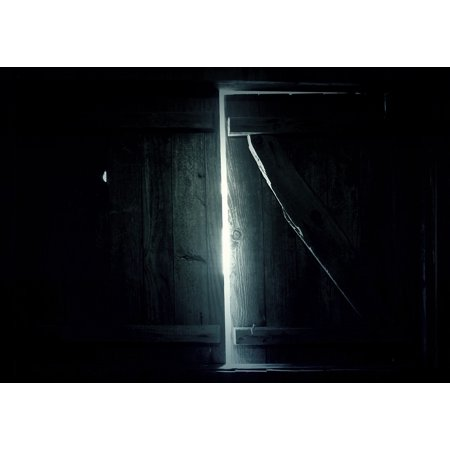 Framed Art For Your Wall Room Window Shine Light Glow Dark Room Dark