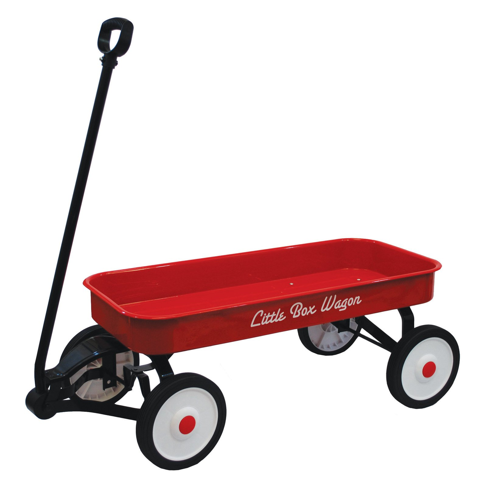 Grand Forward Little Box 34 in. Metal Wagon