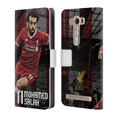 OFFICIAL LIVERPOOL FOOTBALL CLUB 2017/18 FIRST TEAM 1 LEATHER BOOK WALLET CASE COVER FOR ASUS ZENFONE PHONES Official First Day Coin Cover