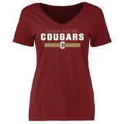 Charleston Cougars Women's Team Strong T-Shirt - Maroon