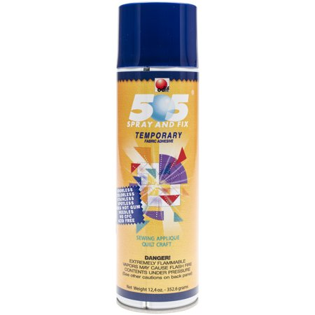 Odif USA 505 Spray & Fix Temporary Fabric Adhesive-14.67oz