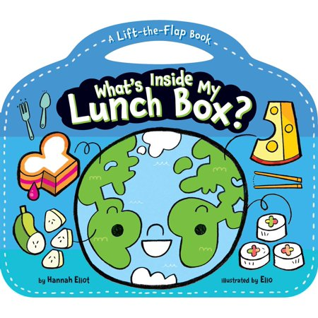 What's Inside My Lunch Box?: A Lift-The-Flap Book (Board