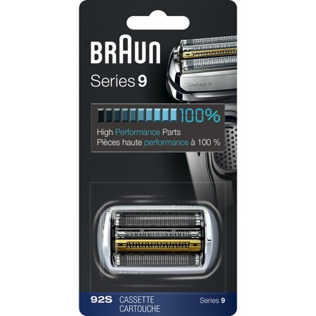 Braun Shaver Replacement Part 92S Silver - Compatible with Series 9 Shavers ()