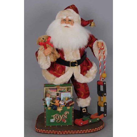 Karen Didion Signature Attic Treasures Santa Claus Christmas Figurine 17 -