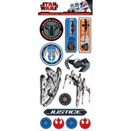 Creative Imaginations - Star Wars Collection - Chipboard Stickers - NEW